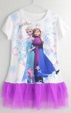 Girls's Dress Frozen Elsa And Anna -All seasons,Casual-UK SELLER