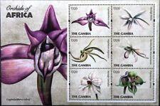 GAMBIA 2011 6542-51 Block 825-26 Orchideen Orchids Blumen Flowers Flora MNH