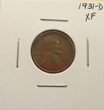 1931-D Lincoln Cent XF