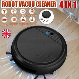 UK Smart Automatic Robotic Vacuum Cleaner Robot Sweeper Machine Cleaning USB