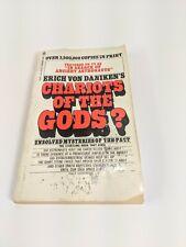 Vintage Chariots of the Gods? Erich Von Daniken 1971 3RD ED Bantam PAPERBACK