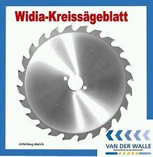 HM Kreissägeblatt Widiabestückt  190 x  30 mm - 30 Zähne