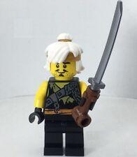 LEGO MASTER WU Minifigure From NINJAGO Season 9 Free the Dragons Set 70654