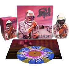 ♫ DEATH ♫ Leprosy LP Vinyl and Bust / Figure Deluxe box set limited rare NEW