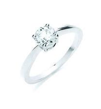 Anillos de joyería con diamantes anillo de compromiso de platino
