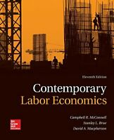Contemporary Labor Economics by Macpherson, David Book The Fast Free Shipping