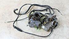 86 Honda VT1100 C VT 1100 Shadow carbs carburetors set rack