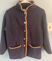 Vintage Woolrich Women's Pea coat/Jacket MADE IN USA Size Medium