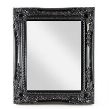 Spiegel Wandspiegel barock schwarz Badspiegel HOLZ Landhaus Cottage NEU