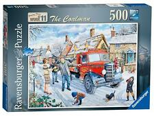 Ravensburger 14675 Happy Days At Work The Coalman Jigsaw Puzzle (500-piece) NEW