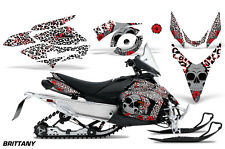 AMR RACING SNOWMOBILE DECAL GRAPHIC KIT YAMAHA PHAZER RTX GT MTX 07-12 BRTTNY RD