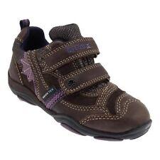 Chaussures marrons en cuir pour fille de 2 à 16 ans pointure 34