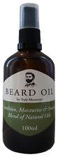Beard Oil, beard conditioner, moisturiser, rich in argan oil and hemp oil 100ml
