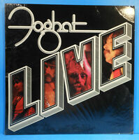 "FOGHAT LIVE VINYL 1977 ORIGINAL SHRINK ""SLOW RIDE"" GREAT CONDITION! VG++/VG+!!D"