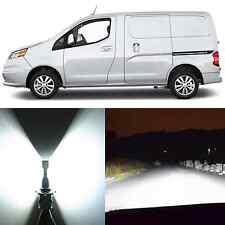 Alla Lighting Hi/Lo Headlight H13 Super White LED Bulbs for Chevy City Express