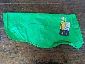 Ruffwear Sun Shower Dog Waterproof Reflective Rain Jacket- medium - Green NWT