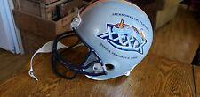 vtg Riddell Super Bowl XXXIX 2005 helmet jacksonville florida replica display