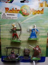 BRITAINS  DEETAIL ROBIN HOOD CHARACTERS.LADY MARIAN FRAY TUCK  BLISTERED AS NEW