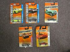 Lot of 5 Matchbox Vehicles in Original Packaging