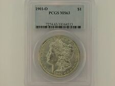1901-O $1 Morgan Silver Dollar PCGS MS63 #18164513