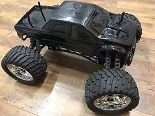 CEN 1/8 Colossus Monster Truck GST-e Brushless Rolling Chassis + Savox 2273!
