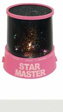Star Master Planetarium Night Light Projector Pink Base New & Boxed