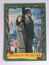Indiana Jones Raiders Of The Lost Ark Topps 1981 Card 80 Captives Of Evil One