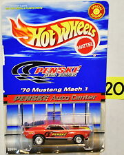 HOT WHEELS PENSKE AUTO CENTER '70 MUSTANG MACH 1