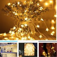 5M 30 LEDS Christmas Wedding Xmas Party Decor Fairy Star String Light Lamp