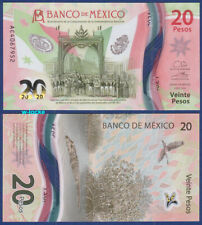 MEXIKO / MEXICO  20 Pesos 2021 Commemorative Polymer  UNC  P.NEW