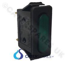 ne34 LINCAT VERT FIN RECTANGULAIRE néon Indicateur LAMPE/AMPOULE 30x11 230V V6