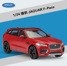 Welly 1:24 Jaguar F-Pace Diecast Metal Model SUV Car Red New in box