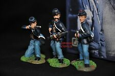 BRITAINS 17015 UNION INFANTRY FIRING AMERICAN CIVIL WAR METAL TOY SOLDIER SET