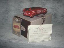 Hallmark Limited Edition 1940 Garton Aero Flite Wagon ~ 1940 Limited Edition