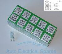 Lucas 501 W2.1 x 9.5d 12v 5W capless sidelight bulb x 10 Pack