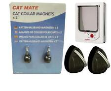 CAF25700 Pet Mate Electro Magnetic Cat Flap Spare Collar Magnets Dog Door