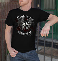 """7XL NEW T-SHIRT /"""" ENTOMBED Candlemass /"""" DTG PRINTED TEE S"""