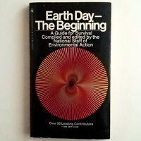 Earth Day The Beginning Environmental Action 1970 Printing Bantam Paperback