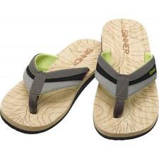 Size 40 Sinner Mens Jaffna flip flop in grey
