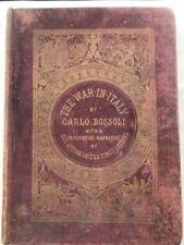 Italia, Bossoli Carlo,War in Italy. 1859.  39 tavole a colori.RISORGIMENTO