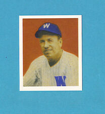 1949 Bowman Reprint #74 Tom McBride Card - Washington Senators