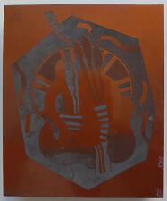 Georges Valmier - Matrice pour Impression - Gravure  - 1932 -