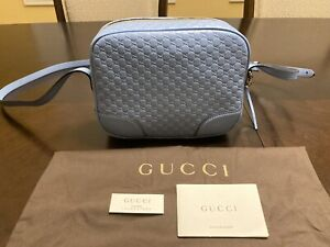 New Authentic Gucci Bree Guccissima GG Small Crossbody Bag