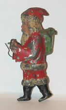 Antique Santa Claus Gunthermann Christmas Vintage Tin Metal Toy Germany Wind Up