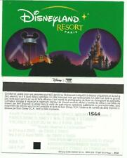 pass Euro Disney Disneyland Oreille Mickey vert AVANT PREMIERE SPACE MOUNTAIN