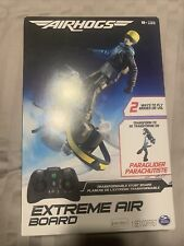 Air Hogs 2-in-1 Extreme Air Board Transforms from RC Stunt Board to Paraglider