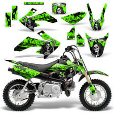 Honda CRF50 Graphic Kit MX Dirt Bike Decals Graphics Wrap CRF 50 04-13 REAP GRN