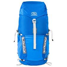 Highlander Hiker 40L Litre  Hiking Backpack Rucksack Raincover navy blue