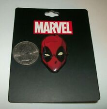 Marvel Deadpool Head Lapel Pin Button New X Men