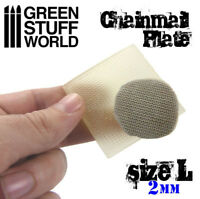 Texture Plate - ChainMail - Size L - Miniatures Warhammer Armor Empire Medieval